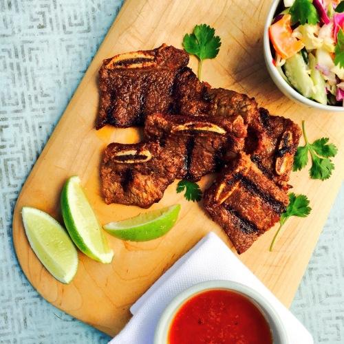 Crosscut beef short ribs - photo - Karen Anderson