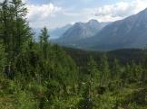Hiking near Mount Engadine Lodge in Kananaskis, Alberta - photo - Karen Anderson