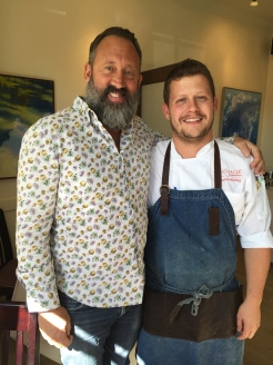 Alessandro Porcelli and Executive Chef Jamie Harling of Rouge Calgary - photo - Karen Anderson