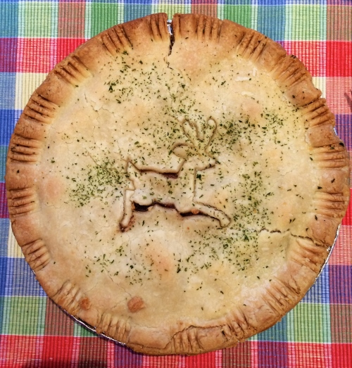 Elk pie made with rich Elk stew - photo - Karen Anderson