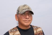 Blackfoot Elder Quinton Crowshoe - photo credit - Karen Anderson