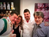 Dario Cecchini with Franca and Peter Bellusci