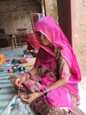 Rajasthani woman's empowerment project worker - photo credit - Karen Anderson