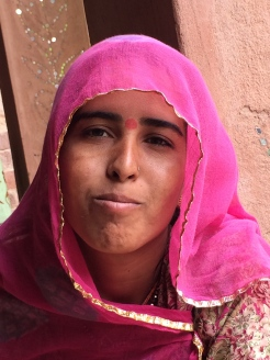 quiet pride of a Rajasthani woman - photo credit - Karen Anderson