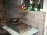 The most humble of kitchens in China will have a work - photo credit - Karen Anderson