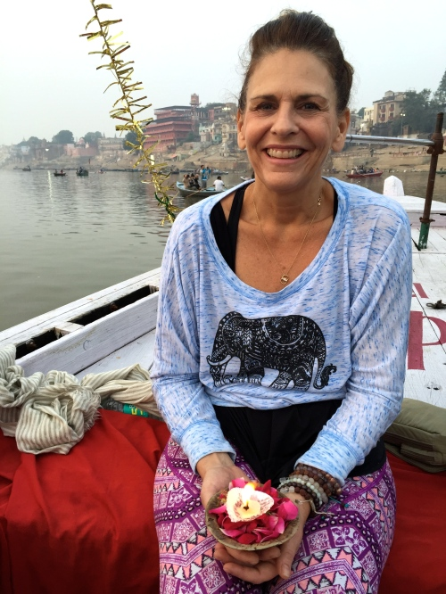 JoJo in Varanasi - photo credit - Karen Anderson