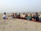 Feeling at OAM in Varanasi - photo credit - Karen Anderson @savourit all