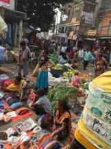 market in Varanasi - photo credit - Karen Anderson