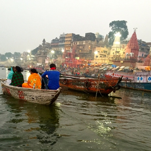 Early morning in Varanasi - photo credit - Karen Anderson @savouritall