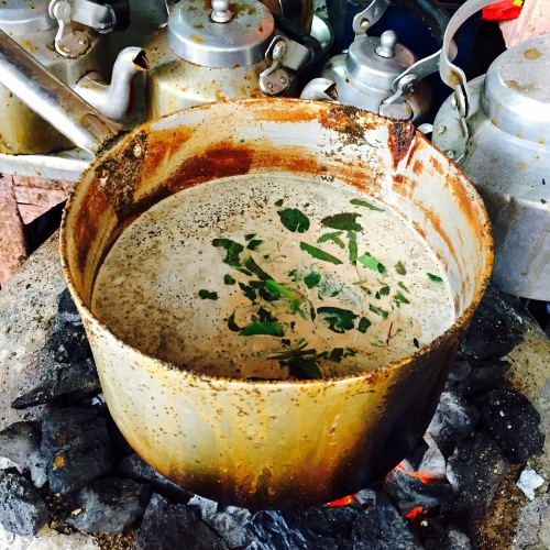 Chai with tulsi - photo credit - Karen Anderson