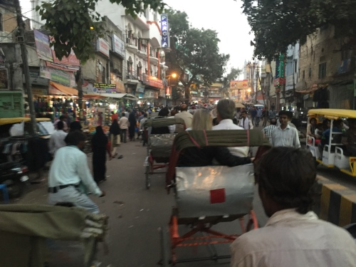 Cycle Rickshaws in Varanasi - photo credit - Karen Anderson