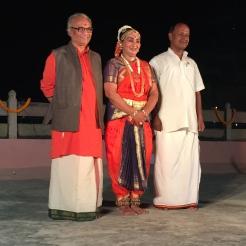 Classical Dancer, Singer and Musician from Varanasi Univ - photo credit - Karen Anderson