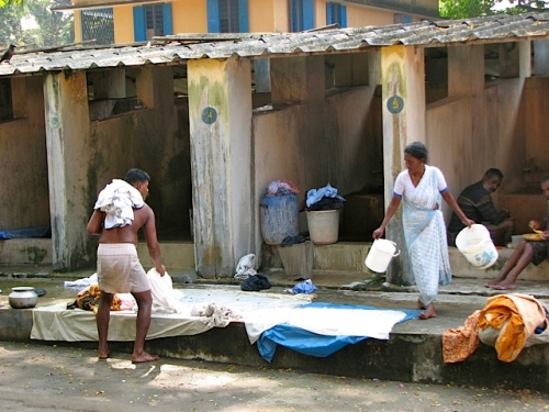 Laundry empowerment project - Cochin Kerala India - photo credit - savouritall blog