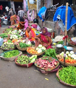food market in India - @savouritall