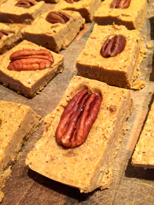 #IYP - pumpkin and bean fudge - @savouritall
