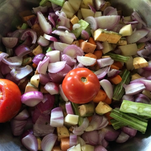 vegetables for curry - @savouritall