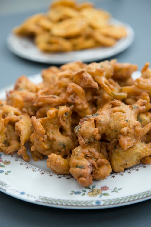 Bhajias from A Spicy Touch-Family Favourites from Noorbanu Nimji's Kitchen by Noorbanu Nimji and Karen Anderson