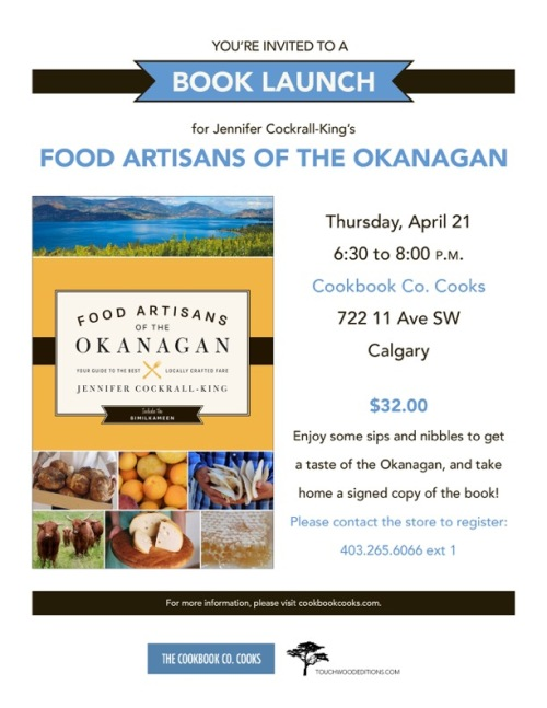 Food Artisans of the Okanagan by Jennifer Cockrall-King