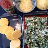 polenta lasagna recipe - photo credit - Karen Anderson @savouritall blog