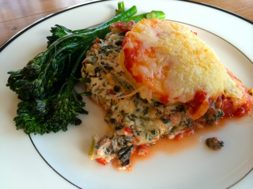 polenta lasagna recipe - photo credit - Karen Anderson