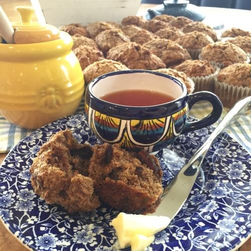 honey date bran muffin - photo credit - Karen Anderson