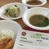 Alberta Culinary, Alberta Pulse, food tastings