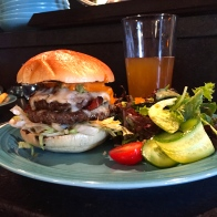 burger and beer - Karen Anderson