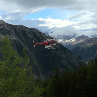 heli hiking - Talus lodge - Karen Anderson