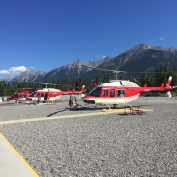 Canmore Alpine Helicopters - Karen Anderson @savouritall