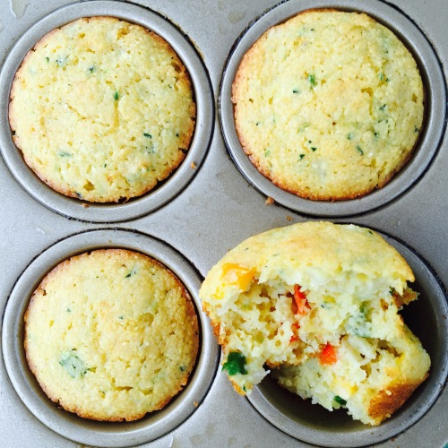 Very Corny Zucchini Muffins - photo credit - Karen Anderson - Savour it All blog