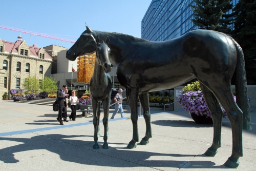 Public Art in Calgary on Savour it All blog