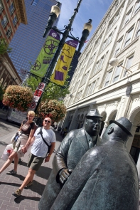 The Conversation, Public Art in Calgary on Savour it all blog by Karen Anderson