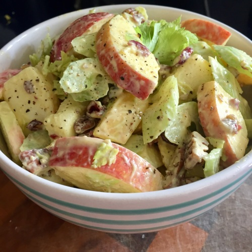 Curried Apple and Celery Salad - photo by Karen Anderson