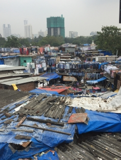 laundry slum in Mumbai - savour it all blog - photo by Karen Anderson