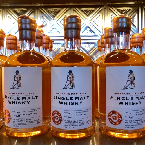 Eau Claire Distillery single malt whisky