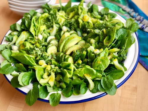 shades of green salad