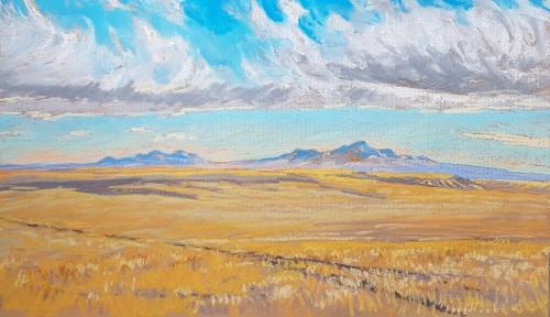Painting by Dean Tatum Reeves
