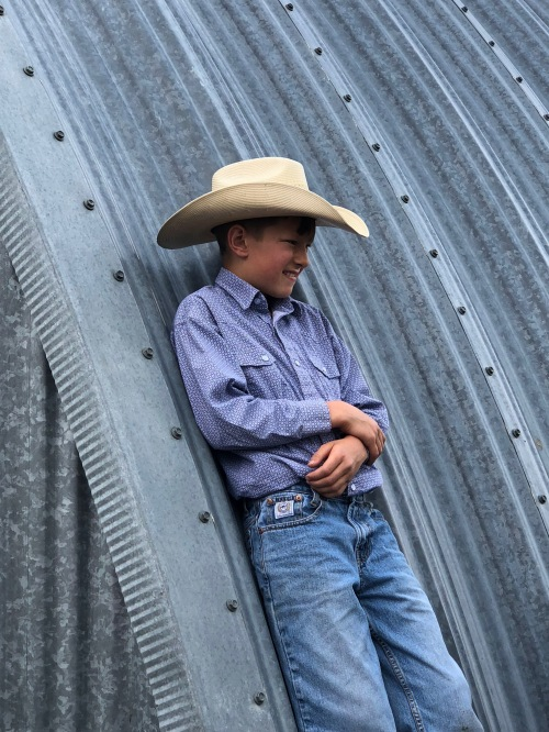 Will Herbert at Trails End Ranch - photo by Karen Anderson