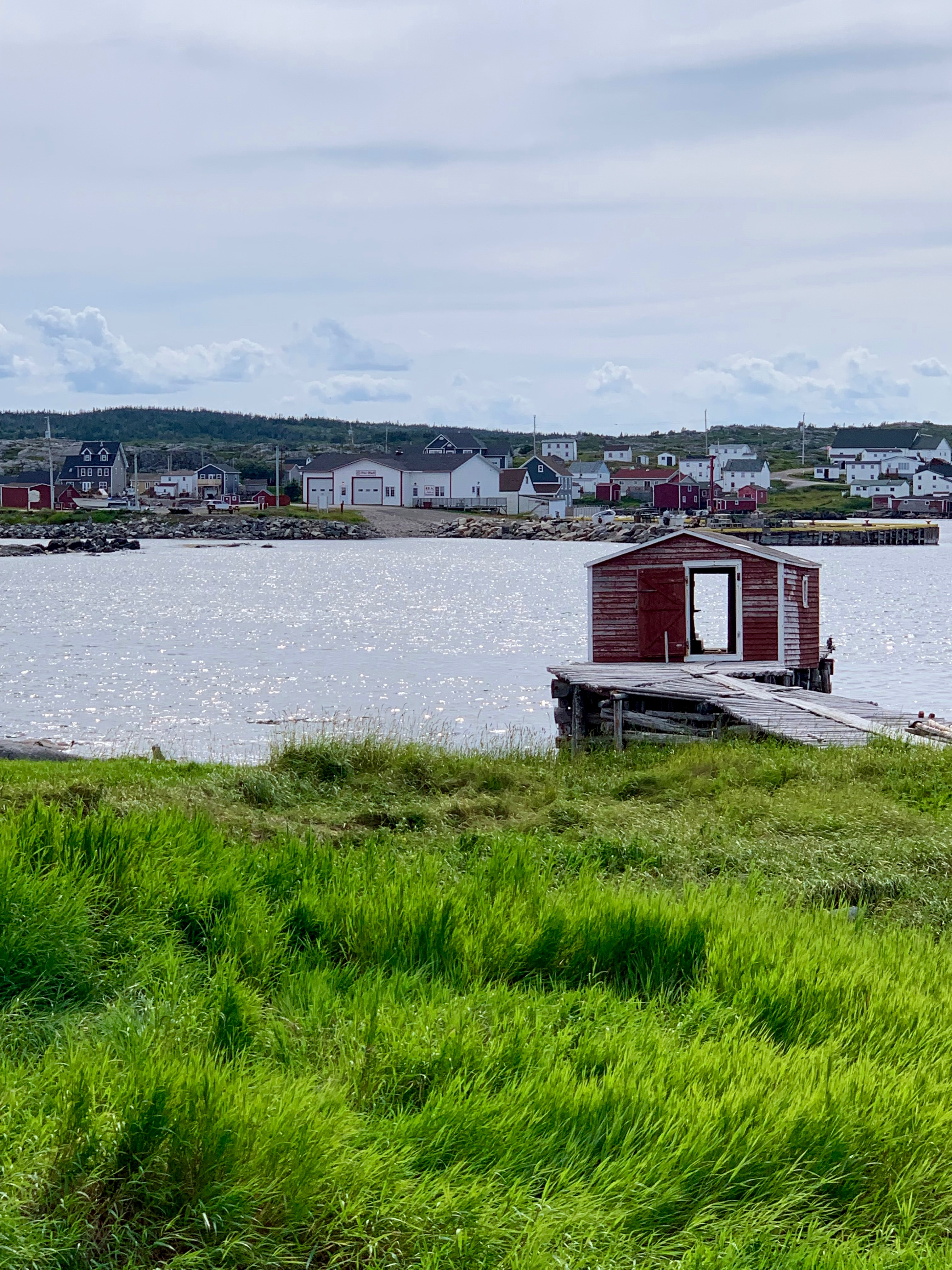 See through shed on Fogo Island - photo by Karen Anderson