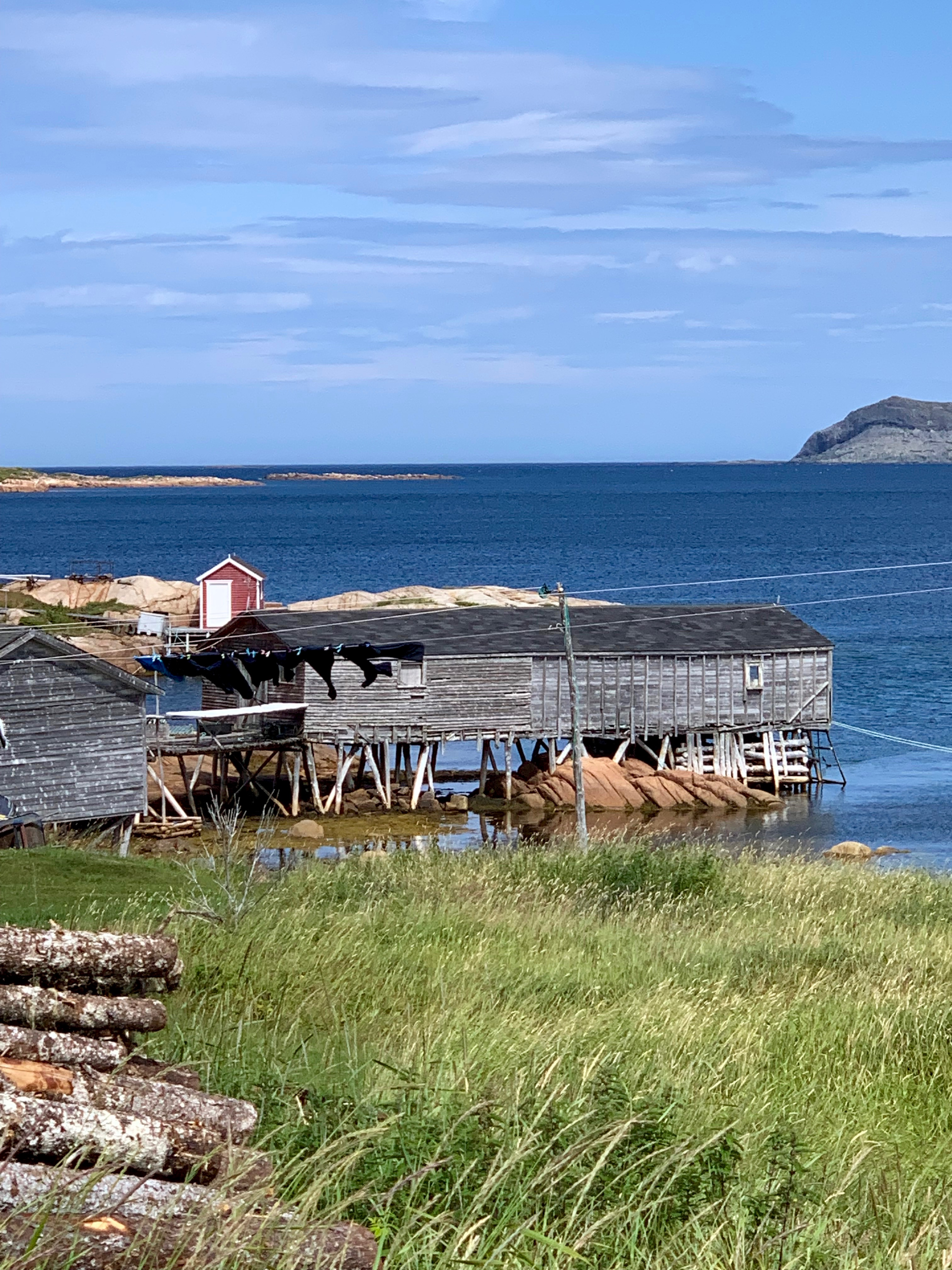 Fogo Island Fishing Stage - photo by Karen Anderson