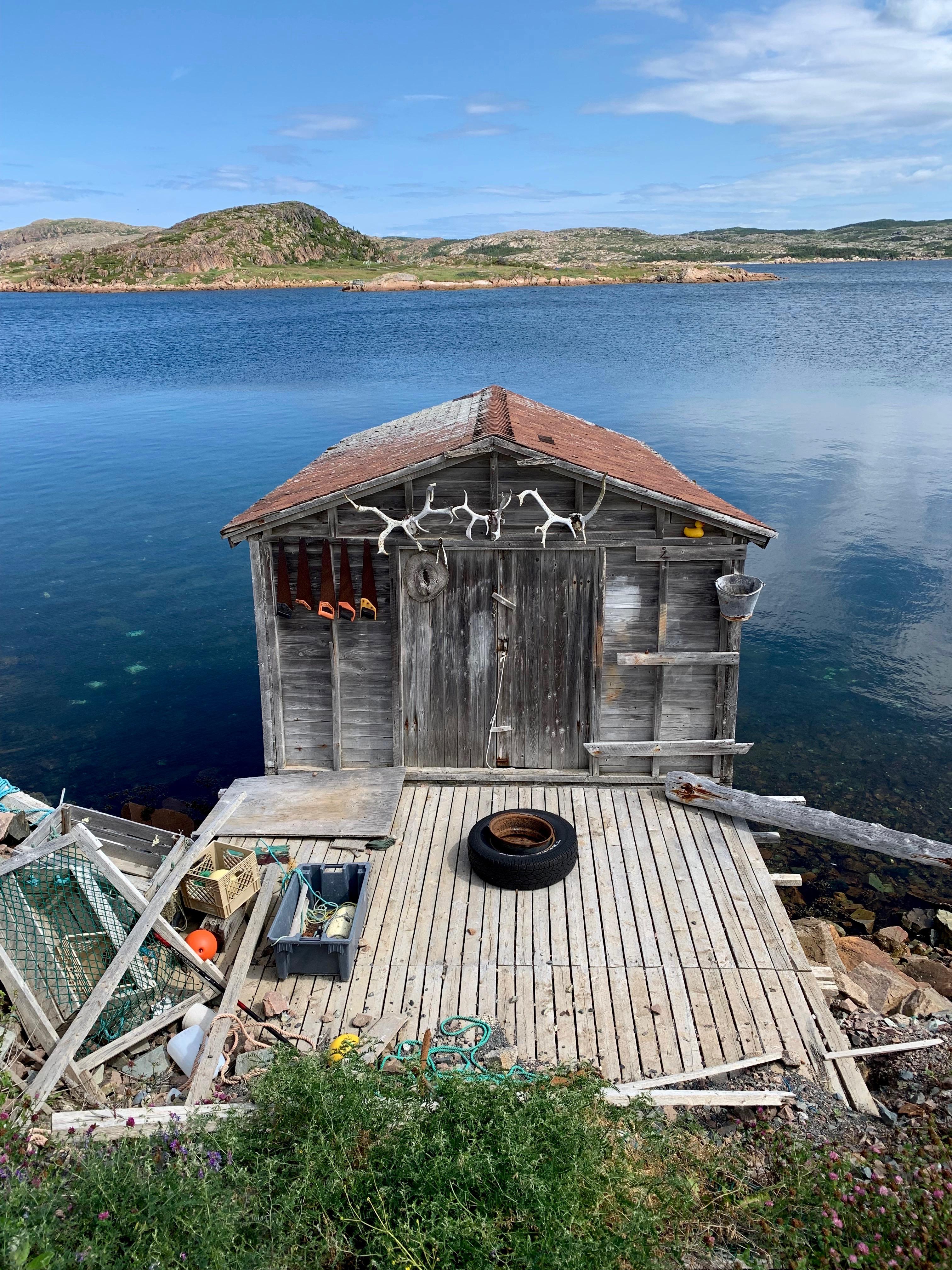 Antler Shed - Fogo Island - photo by Karen Anderson