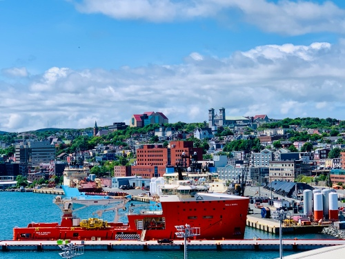 St. John's, NL harbour - photo by Karen Anderson