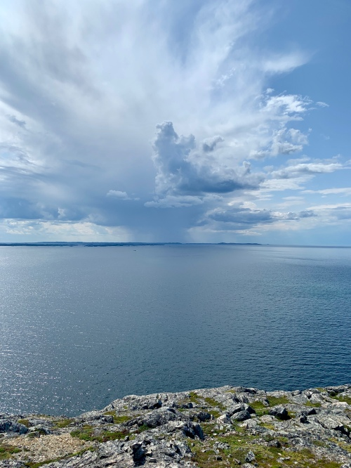 Big sky off Fogo Island, NL - photo by Karen Anderson