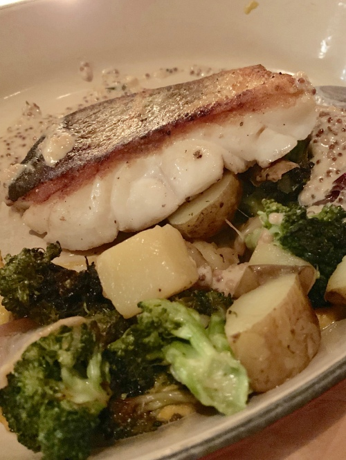 pan fried cod - photo by Karen Anderson