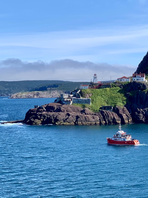 Fort Amherst Lighthouse - photo by Karen Anderson
