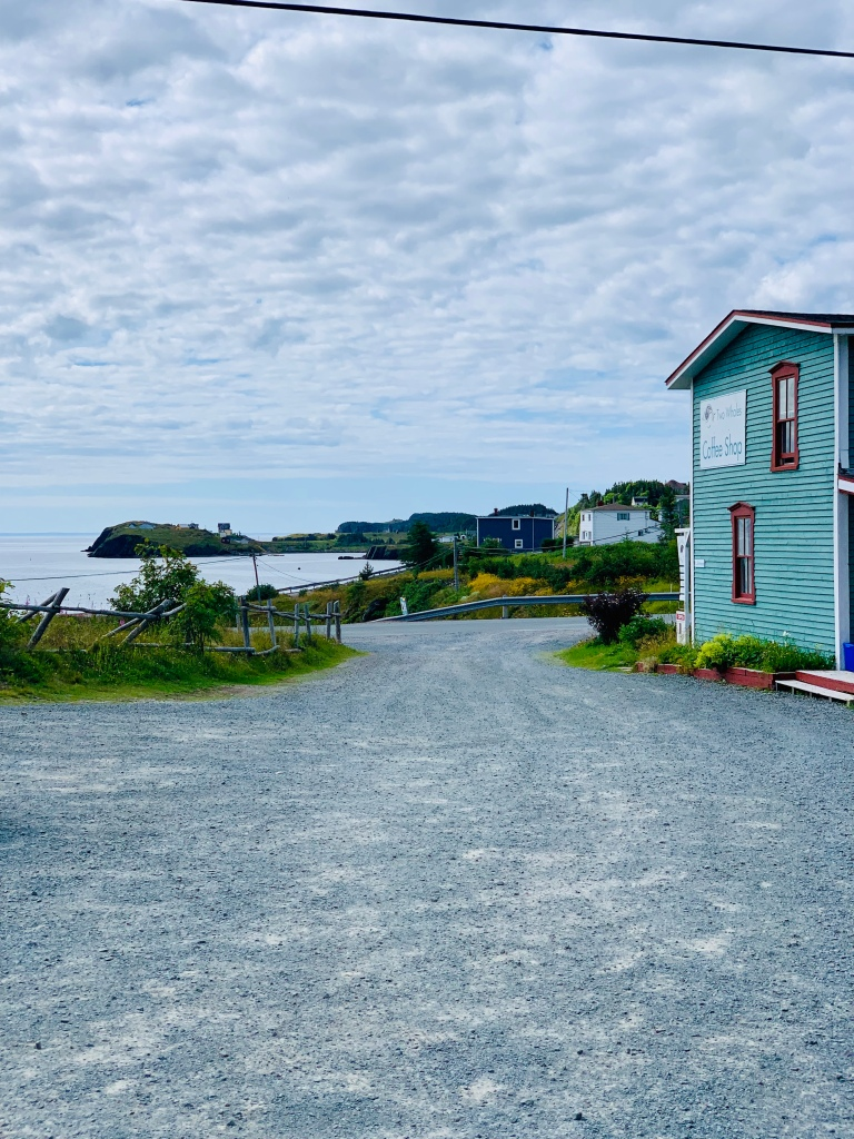 Two Whales Cafe and view to Port Rexton