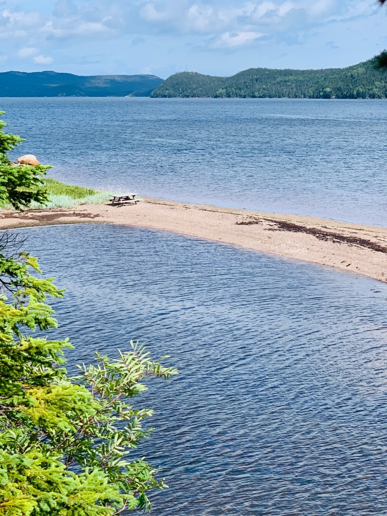 Sandy Beaches on Newman Sound, NL - photo by Karen Anderson