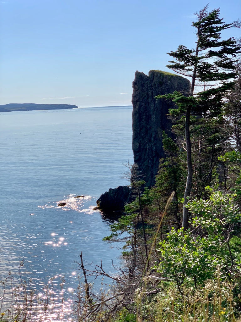 sheer cliffs of Skerwink Trail, NL