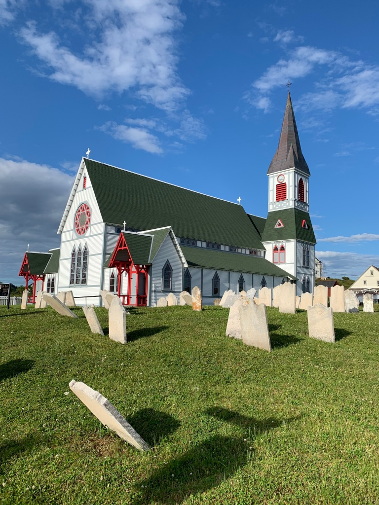 St. Paul's Anglican Church in Trinity, NL